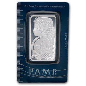 Pamp Suisse 50 Gramm Silberbarren 999 Fine Silver Silber - Top Geldanlage - SELTEN